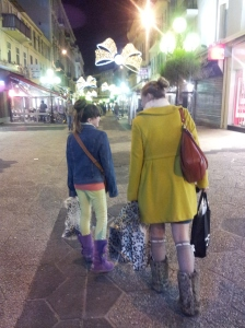 This is my daughter and sister in Nice. It has nothing to do with this post. I just like it.